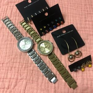 *NWT*NY&Co Watches and accessories lot